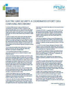 Electric Grid Security Whitepaper
